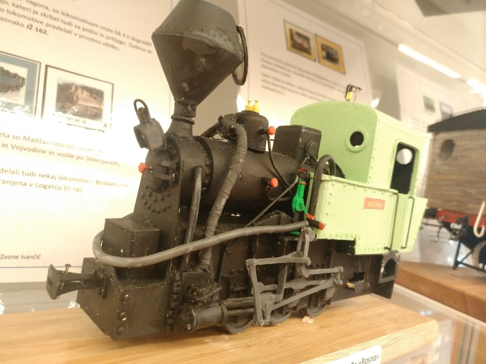 IMG 20181112 110853 - Zvone Ivančič: 160 let južne železnice – razstava maket lokomotiv in izbora znamk
