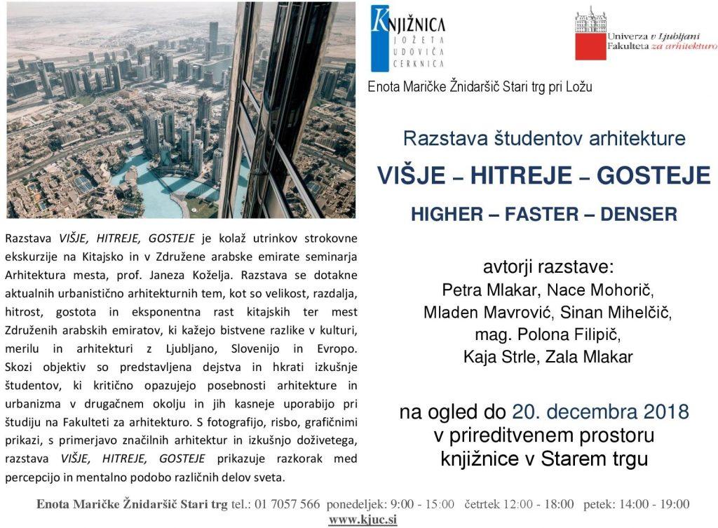 vabilo 1024x753 - VIŠJE - HITREJE - GOSTEJE - razstava študentov arhitekture