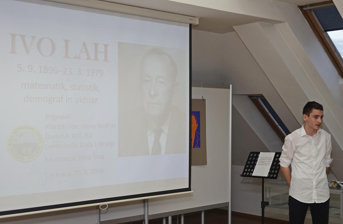IVO LAH 06 resize - Prireditev ob 40-letnici smrti matematika Iva Laha