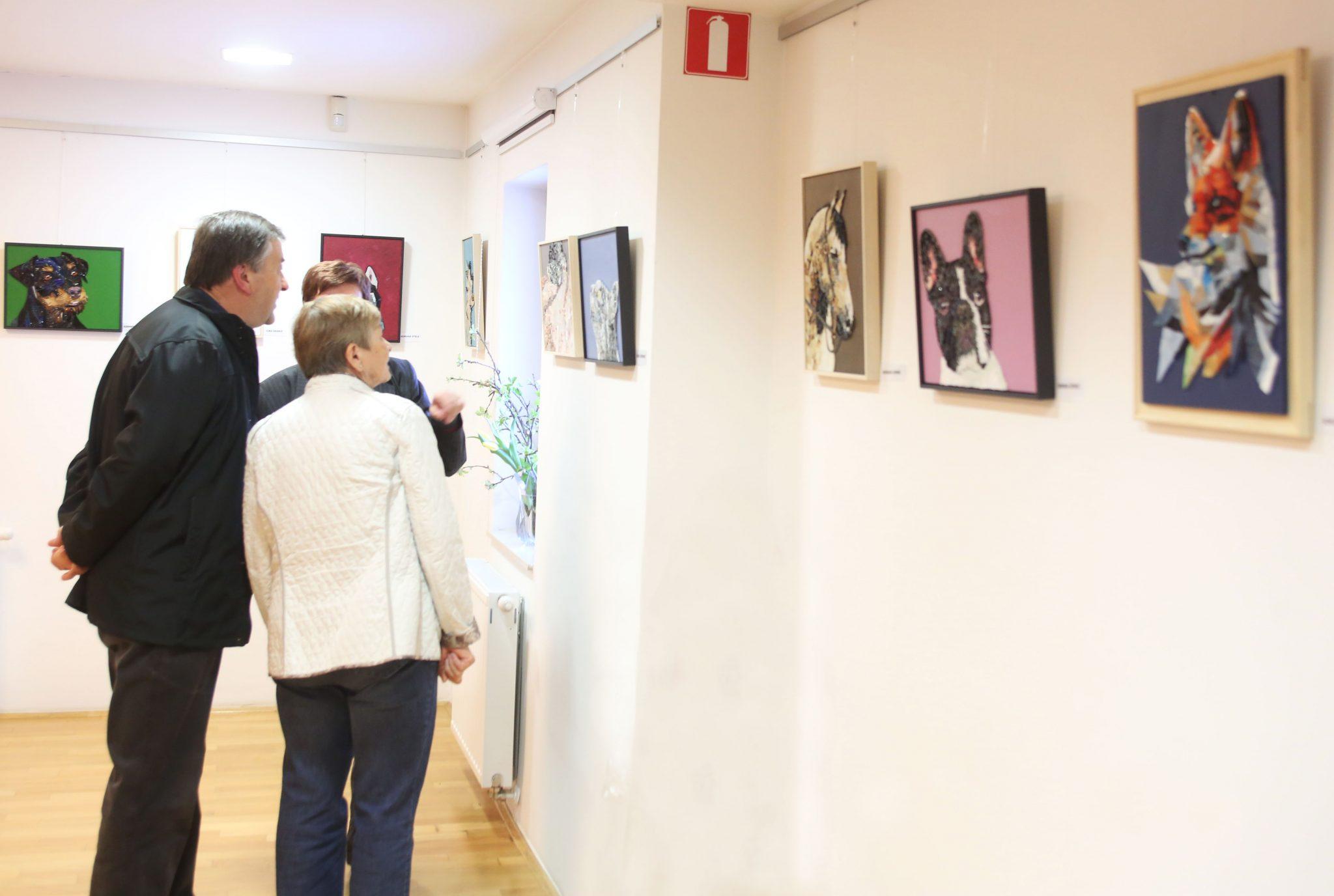 RAZSTAVA MOZAIKOV 01 FOTO LJUBO VUKELIČ - Odprtje razstave - Pogled v živalski svet - sekcije Mozaik KD Rak Rakek