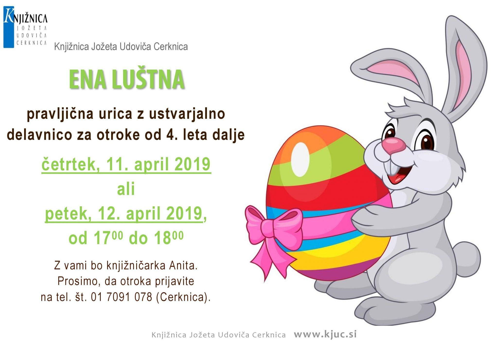 cover - Pravljična ura in ustvarjalna delavnica za otroke od 4. leta dalje - Cerknica