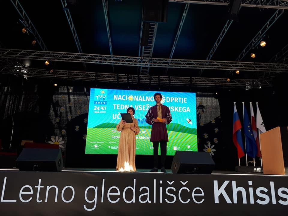 8 - Knjižnica prejemnica Priznanja za promocijo učenja in znanja odraslih Andragoškega centra Slovenije