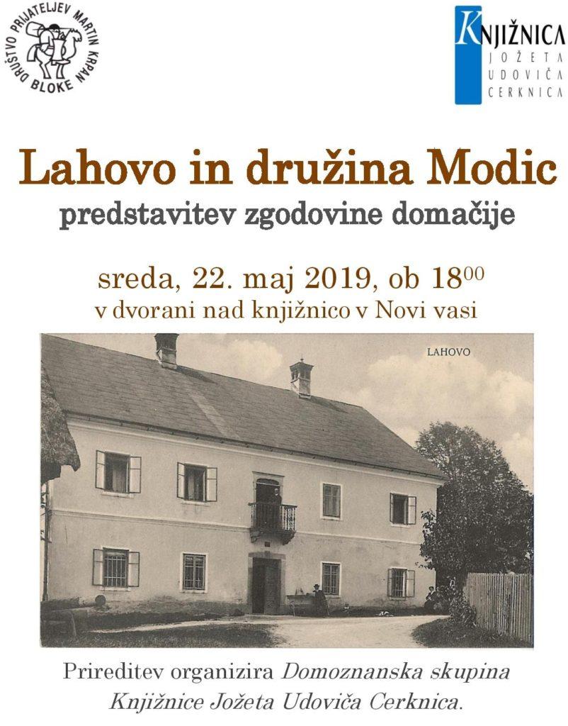 Lahovo in družina Modic page 002 802x1024 - Lahovo in družina Modic - predstavitev zgodovine domačije