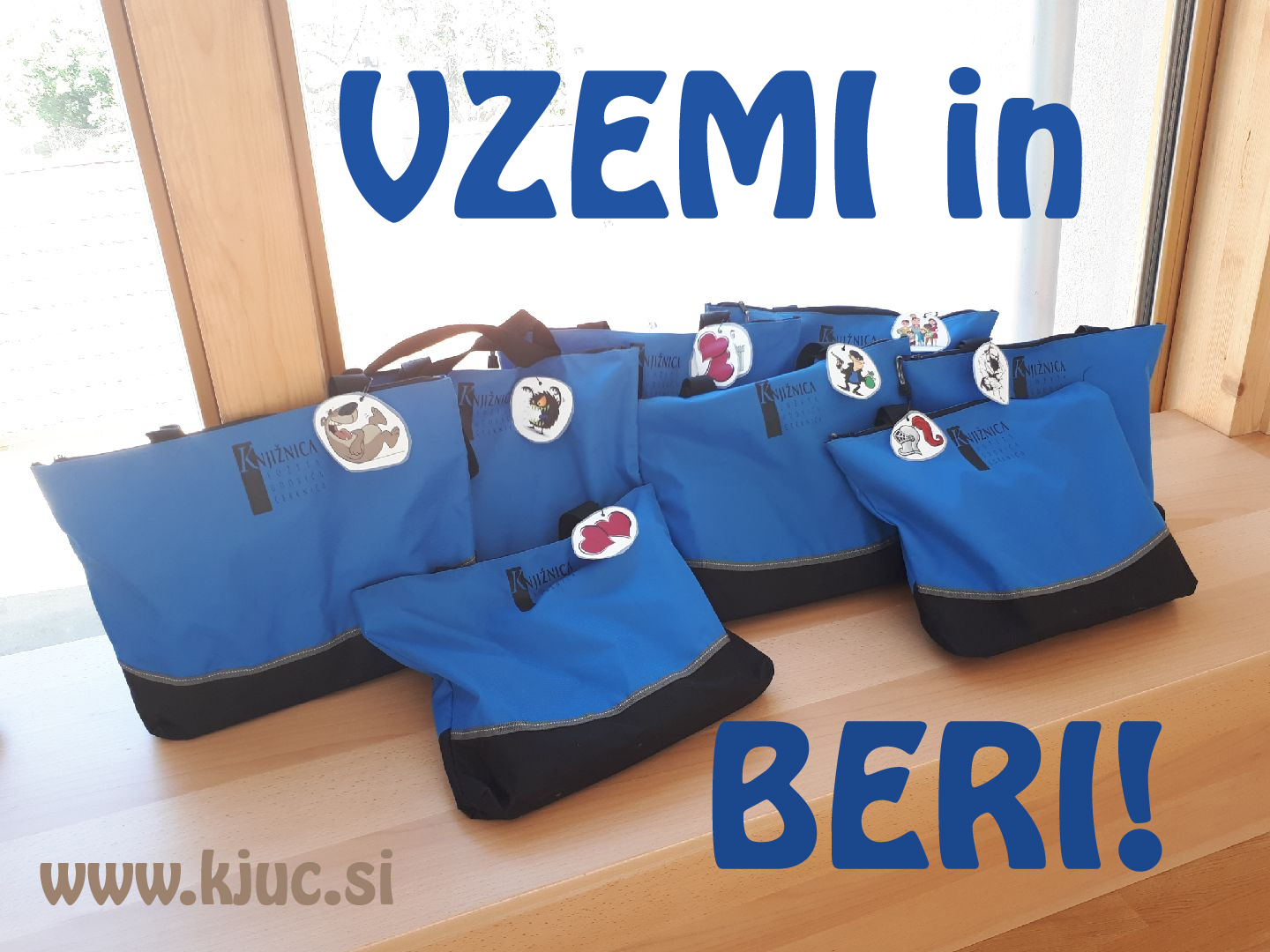 VZEMI IN BERI