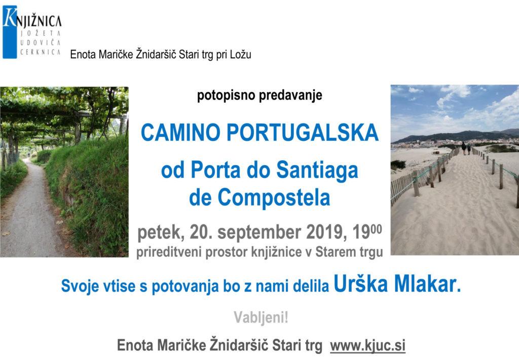 ST Portugalska sept 2019 1024x711 - Urška Mlakar: Camino Portugalska - od Porta do Santiaga de Compostela