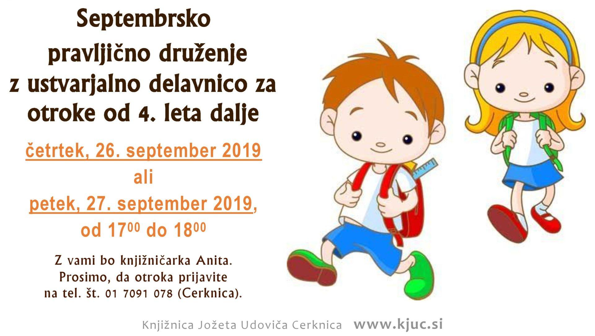 cover 6 - Septembrsko pravljično druženje z ustvarjalno delavnico za otroke od 4. leta dalje
