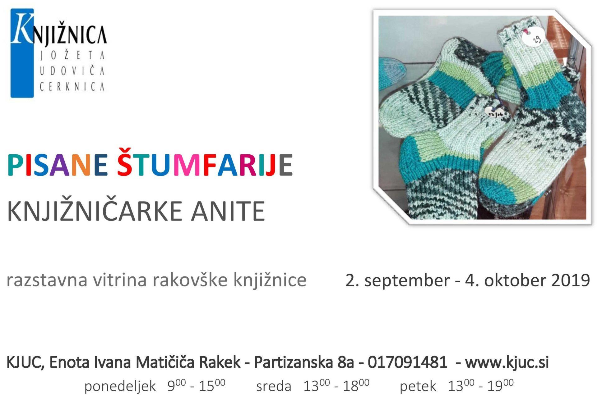 cover 9 - Pisane štumfarije knjižničarke Anite