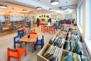 Enota Rakek mladinski oddelek 300x200 - Devet let od odprtja nove knjižnice na Rakeku