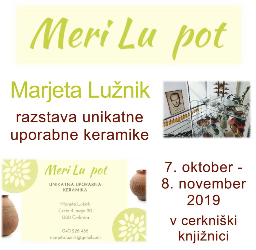 fb vabilo copy 1024x999 - Meri Lu pot - Marjeta Lužnik - unikatna uporabna keramika