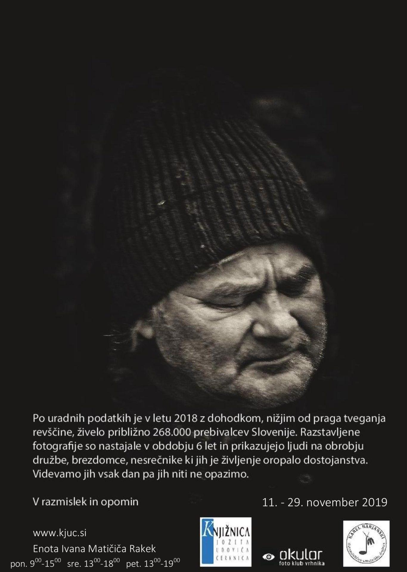 cover2 - Rado Krasnik - Na temni strani ulice: odprtje razstave fotografij