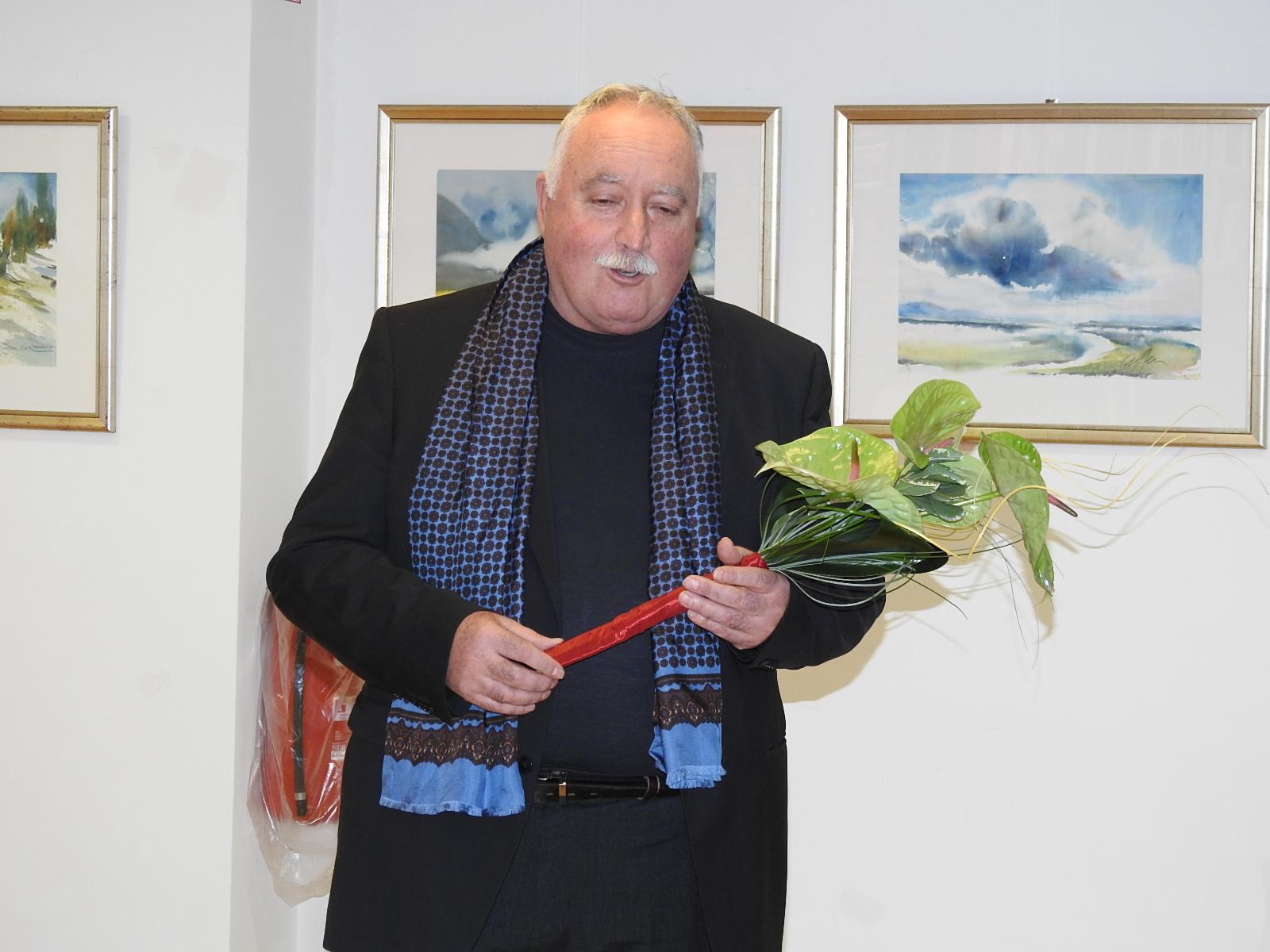 DSCN0623 - Odprtje likovne razstave Janeza Ovsca