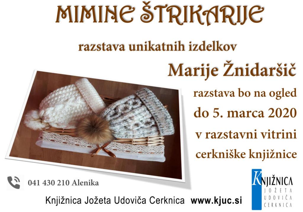 MIMINE ŠTRIKARIJE 1024x717 - Mimine štrikarije - unikatni izdelki Marije Žnidaršič