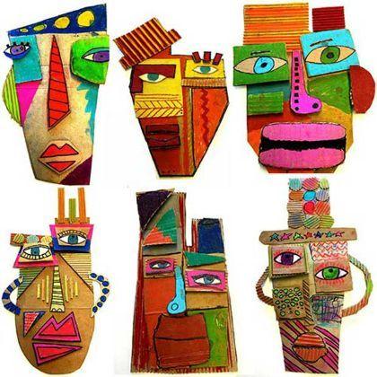 cardboard mask - Dogodki
