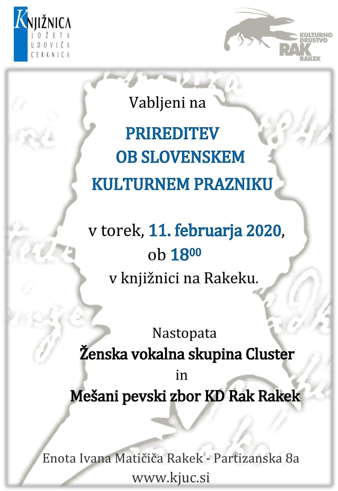 cover 3 - Prireditev ob slovenskem kulturnem prazniku