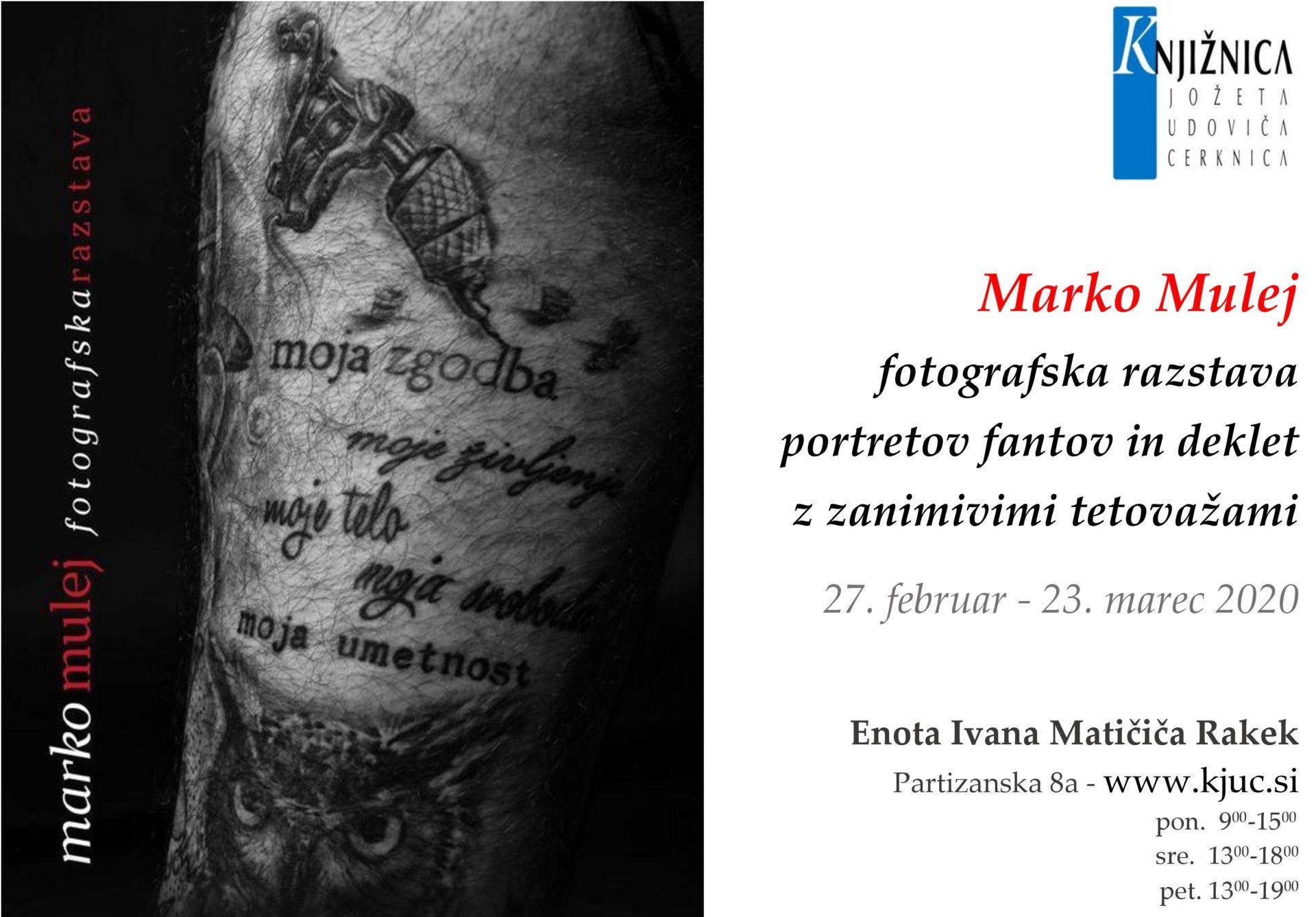 cover 6 - Marko Mulej: Moja zgodba, moje življenje, moje telo, moja svoboda, moja umetnost