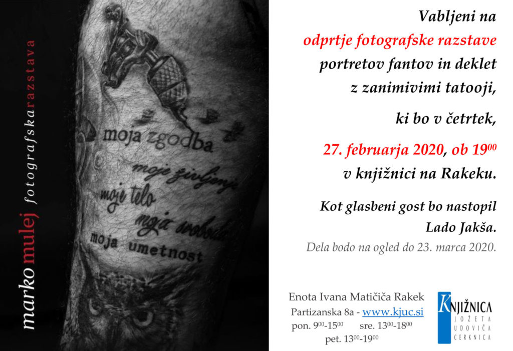 vabilo mulej 1024x701 - Marko Mulej: Moja zgodba, moje življenje, moje telo, moja svoboda, moja umetnost