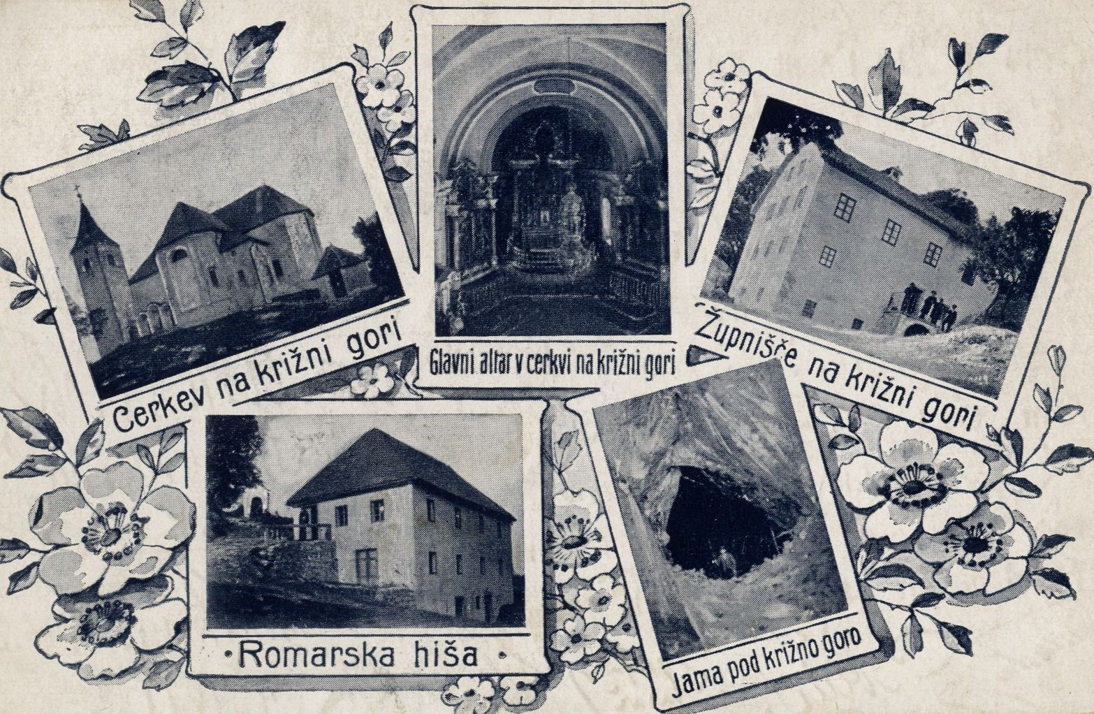 cover 16 - Notranjski kraji na razglednicah