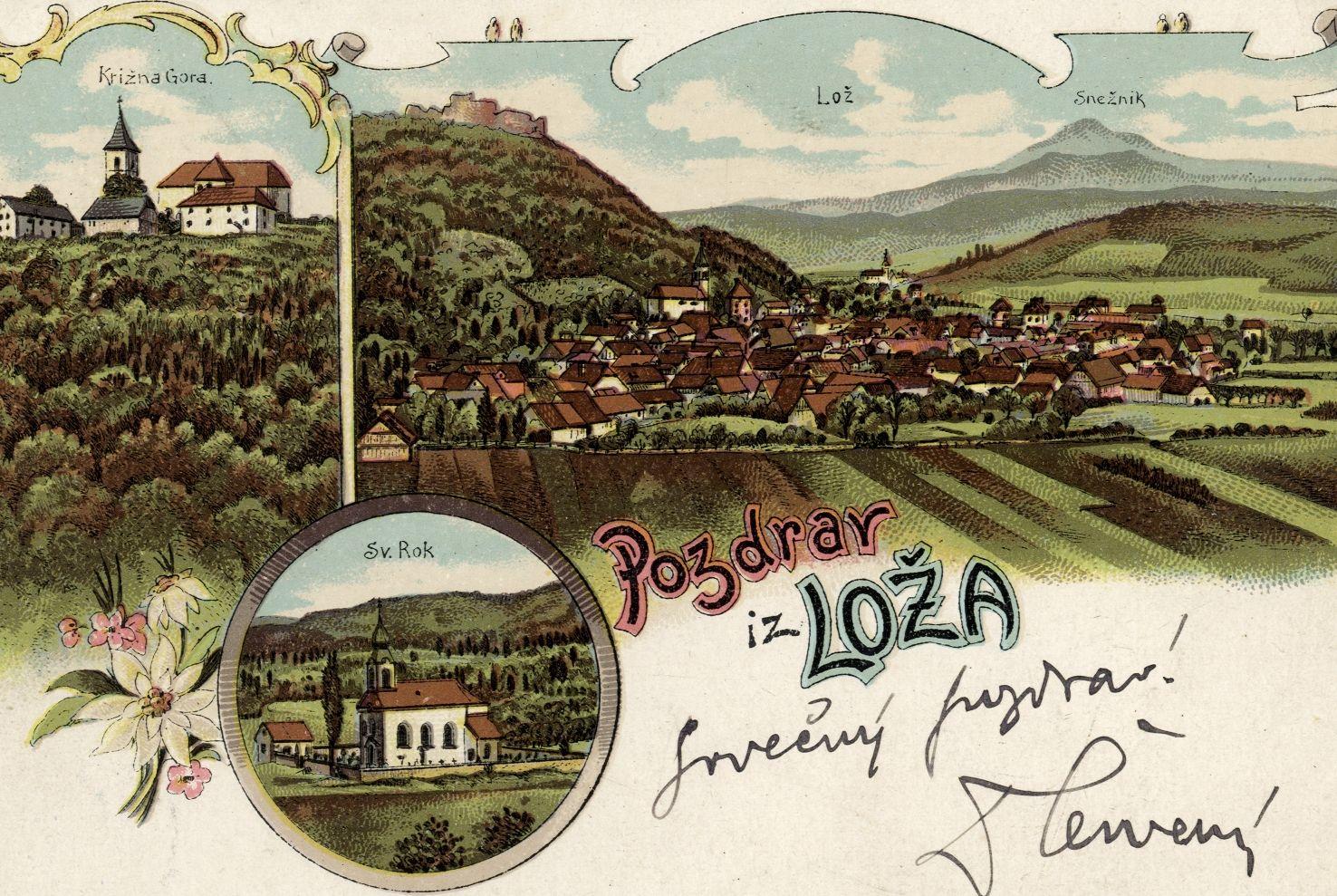 cover 23 - Notranjski kraji na razglednicah