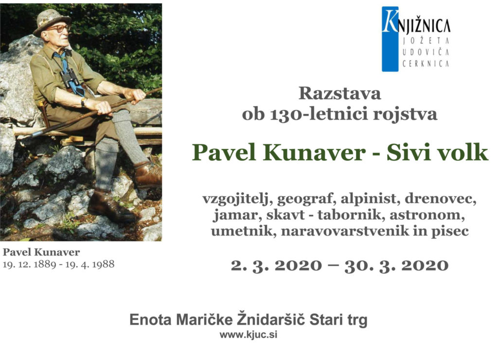kunaver razstava 1 1024x707 - Pavel Kunaver - razstava ob 130-letnici rojstva