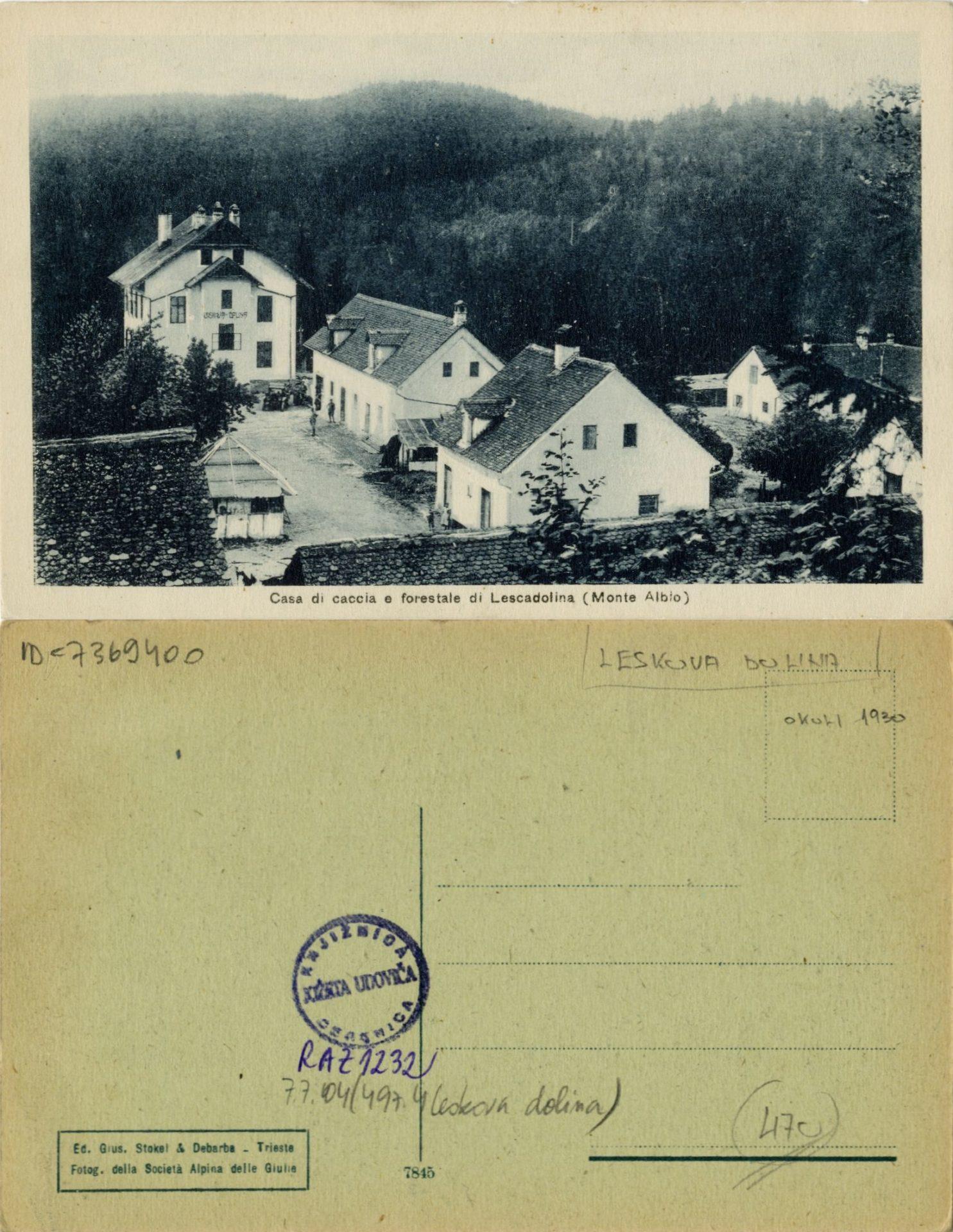zlimano 104 - Leskova dolina
