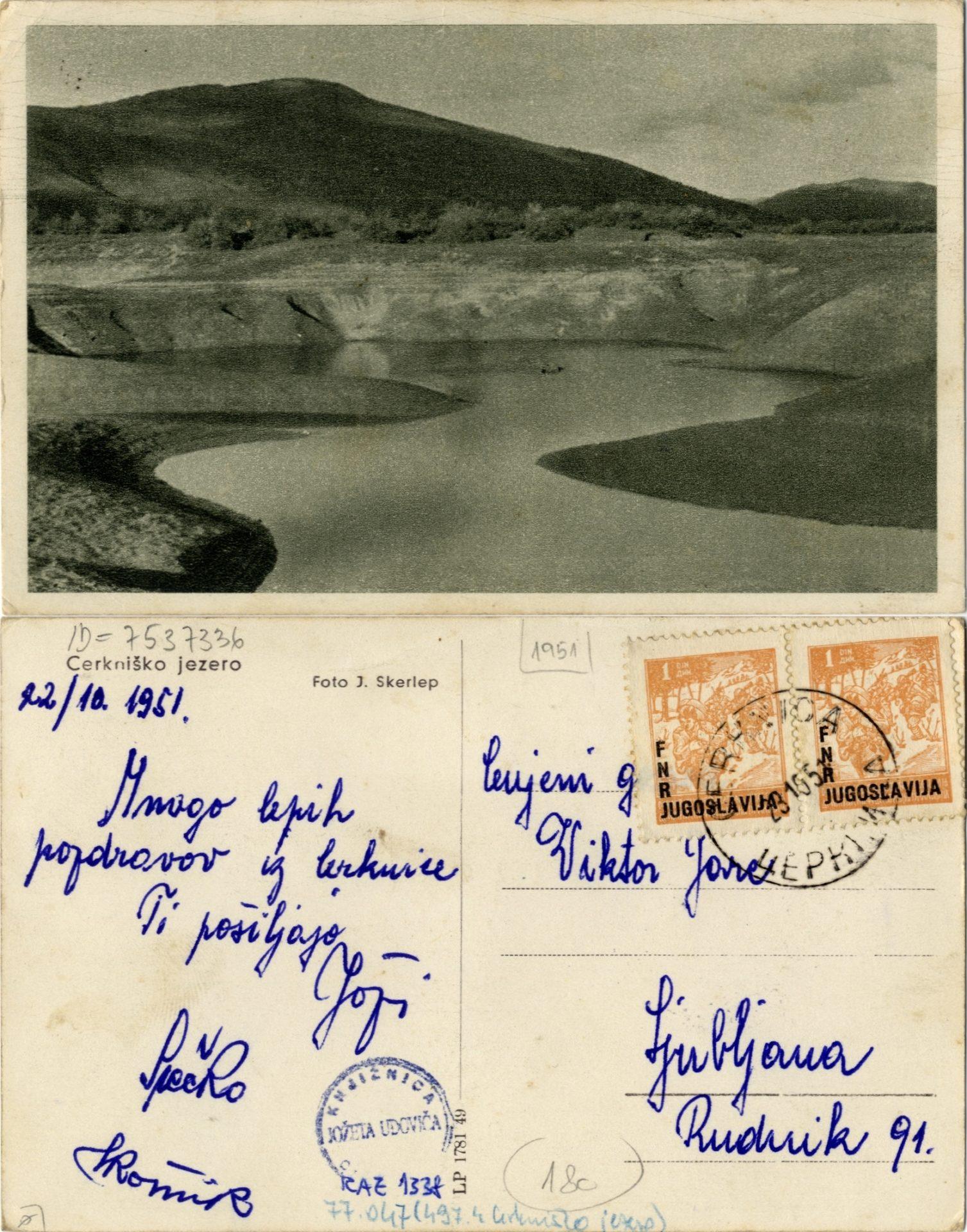 zlimano 23 - Cerkniško jezero