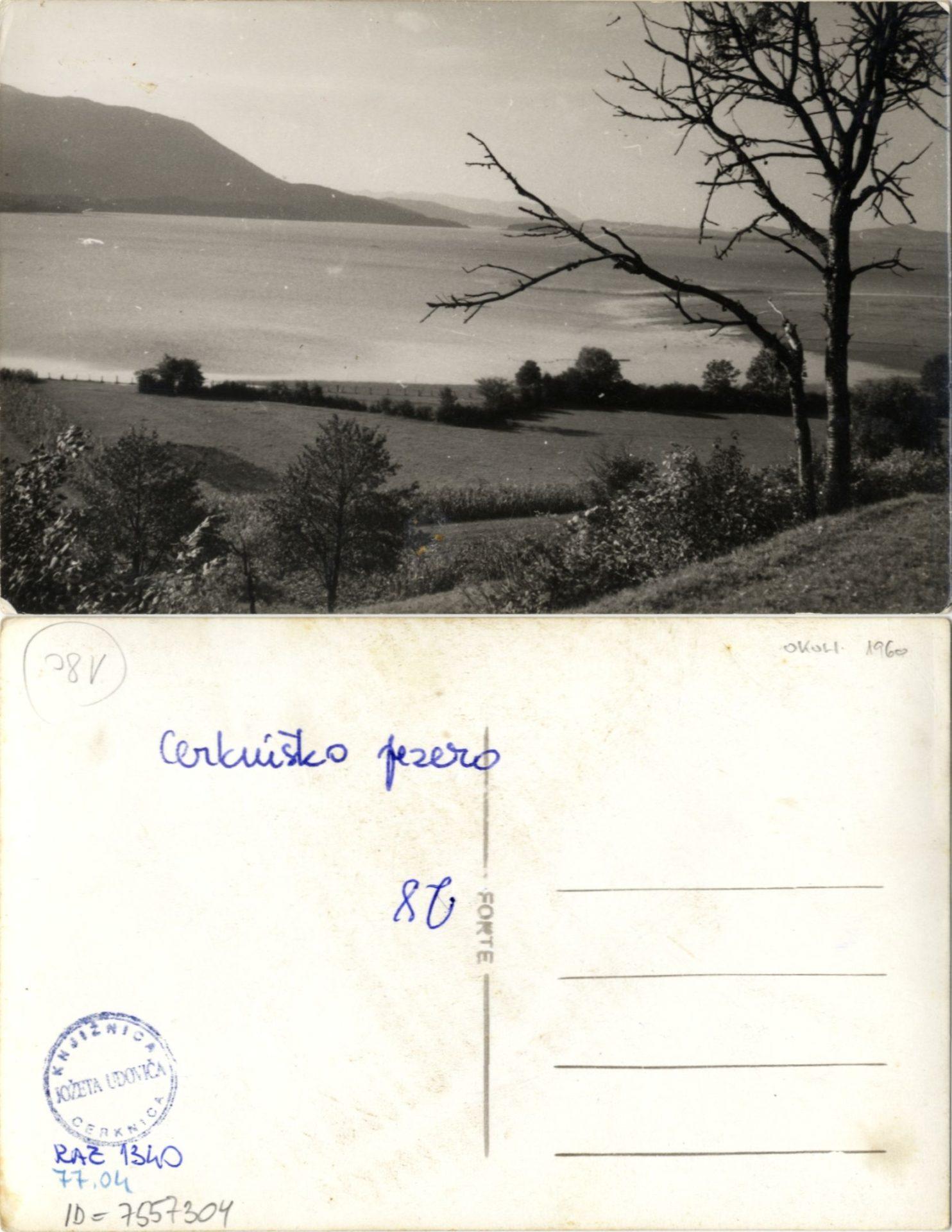 zlimano 31 - Cerkniško jezero