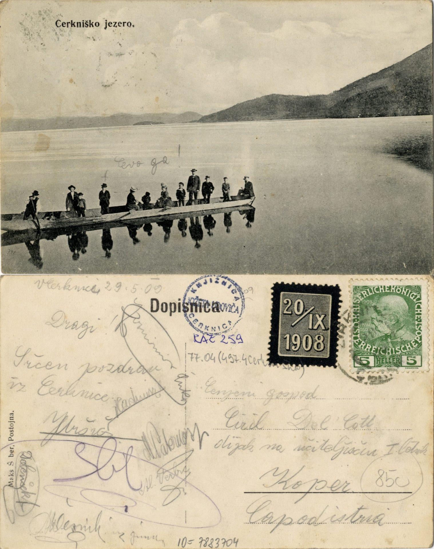 zlimano 7 - Cerkniško jezero