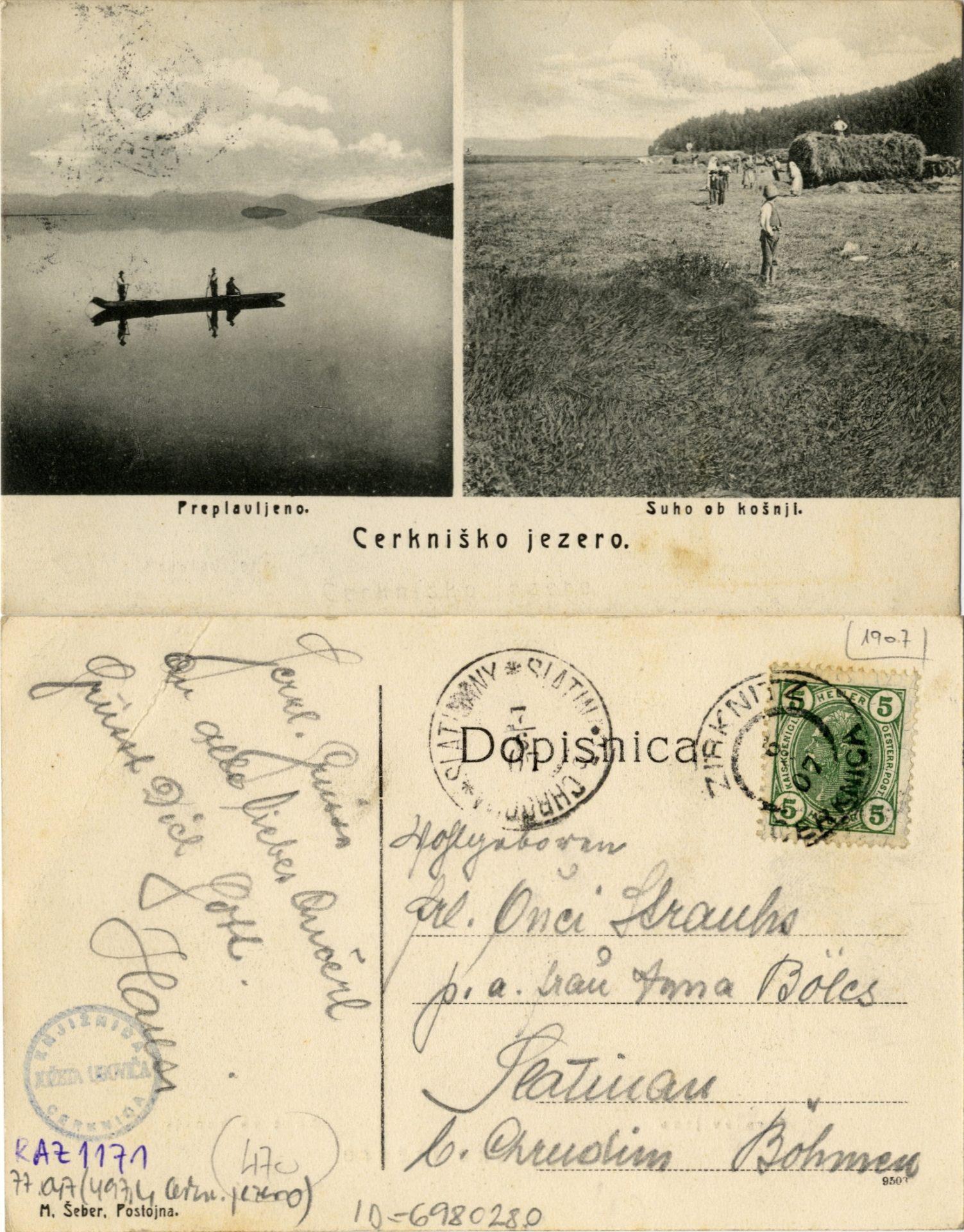 zlimano 9 - Cerkniško jezero