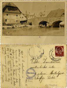 C 1941 229x300 - Stare razglednice Cerknice iz naše Domoznanske zbirke