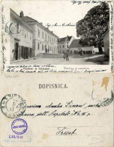 Cerknica 1903 233x300 - Stare razglednice Cerknice iz naše Domoznanske zbirke