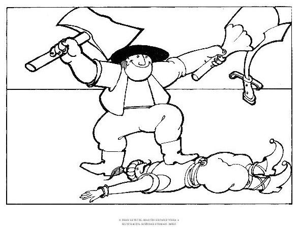 Document page 019 - Martin Krpan z Vrha z ilustracijami Božidarja Strmana