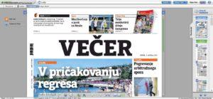 večer 300x139 - Najnovejši Dnevnik, Nedeljski Dnevnik in Večer preberite na spletu
