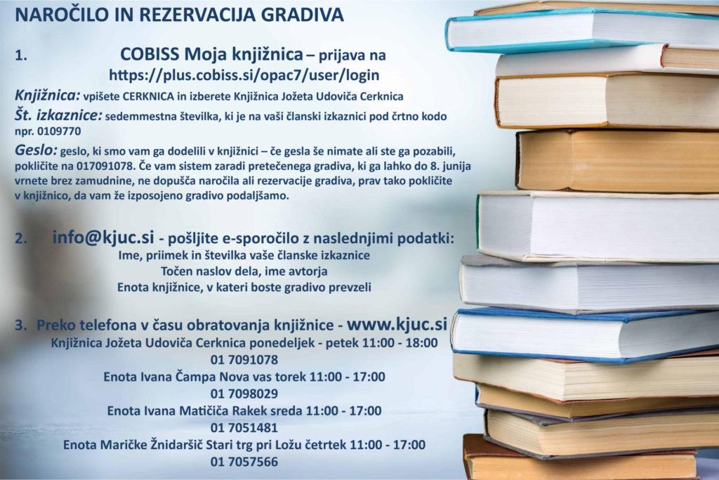 knjige kopija copy 1024x683 - Naročilo in rezervacija gradiva