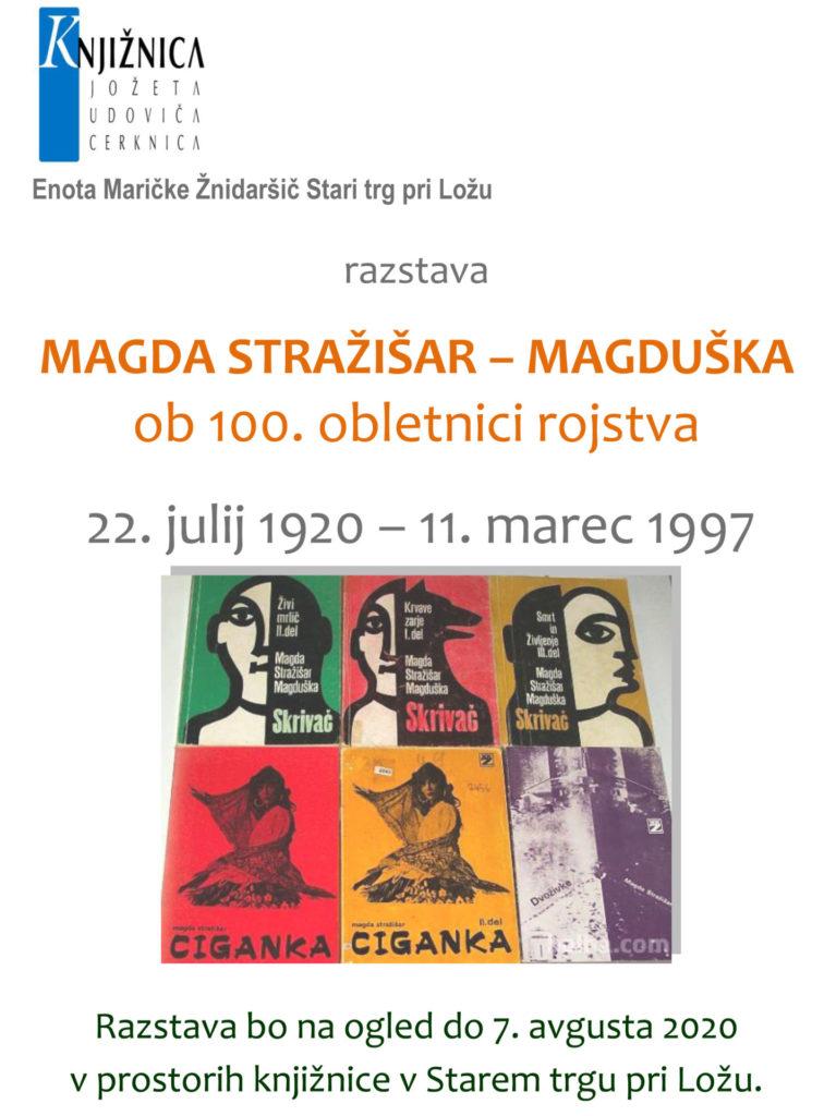 Magduška ST 756x1024 - Magda Stražišar - Magduška - razstava ob 100-letnici rojstva