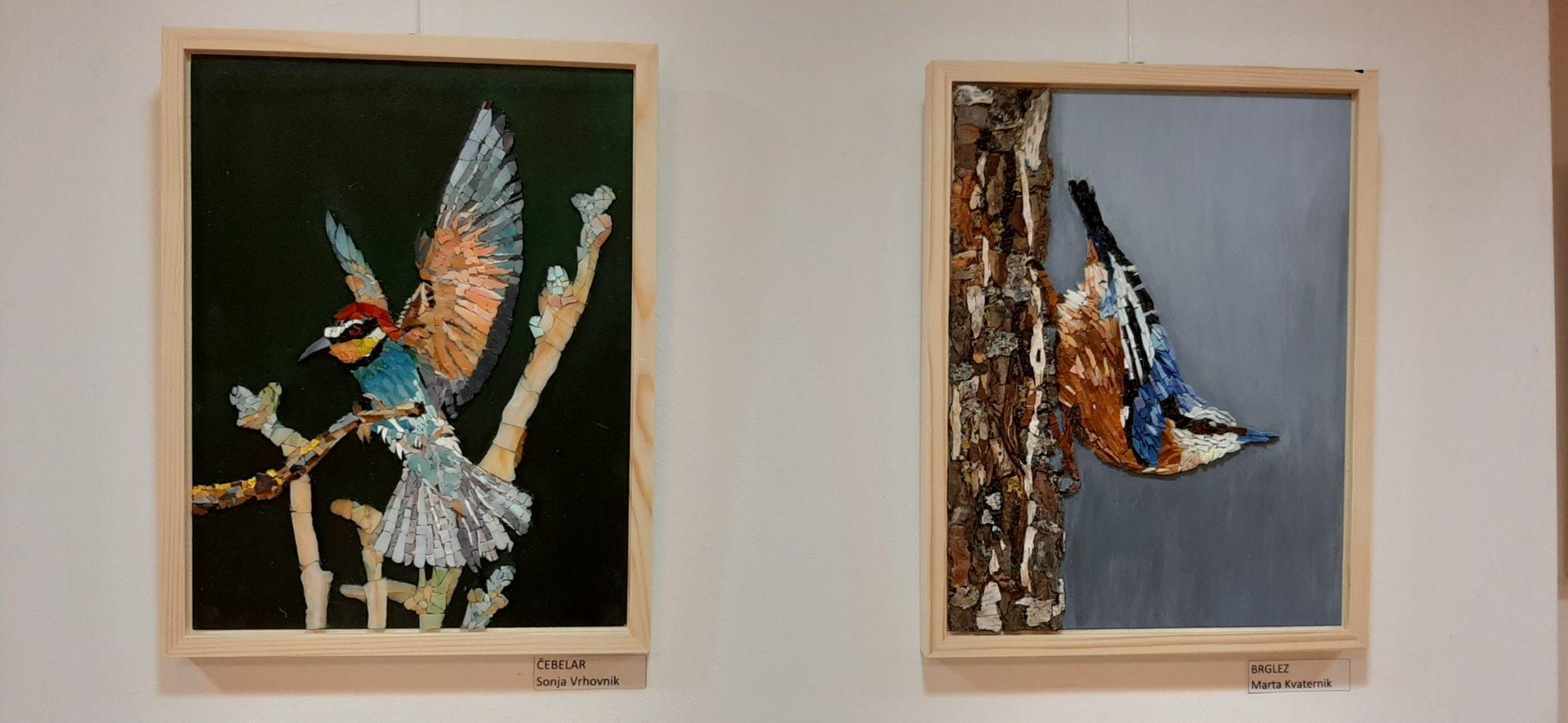 20200918 191617 - Ptice naših krajev – razstava sekcije Mozaik KD Rak Rakek