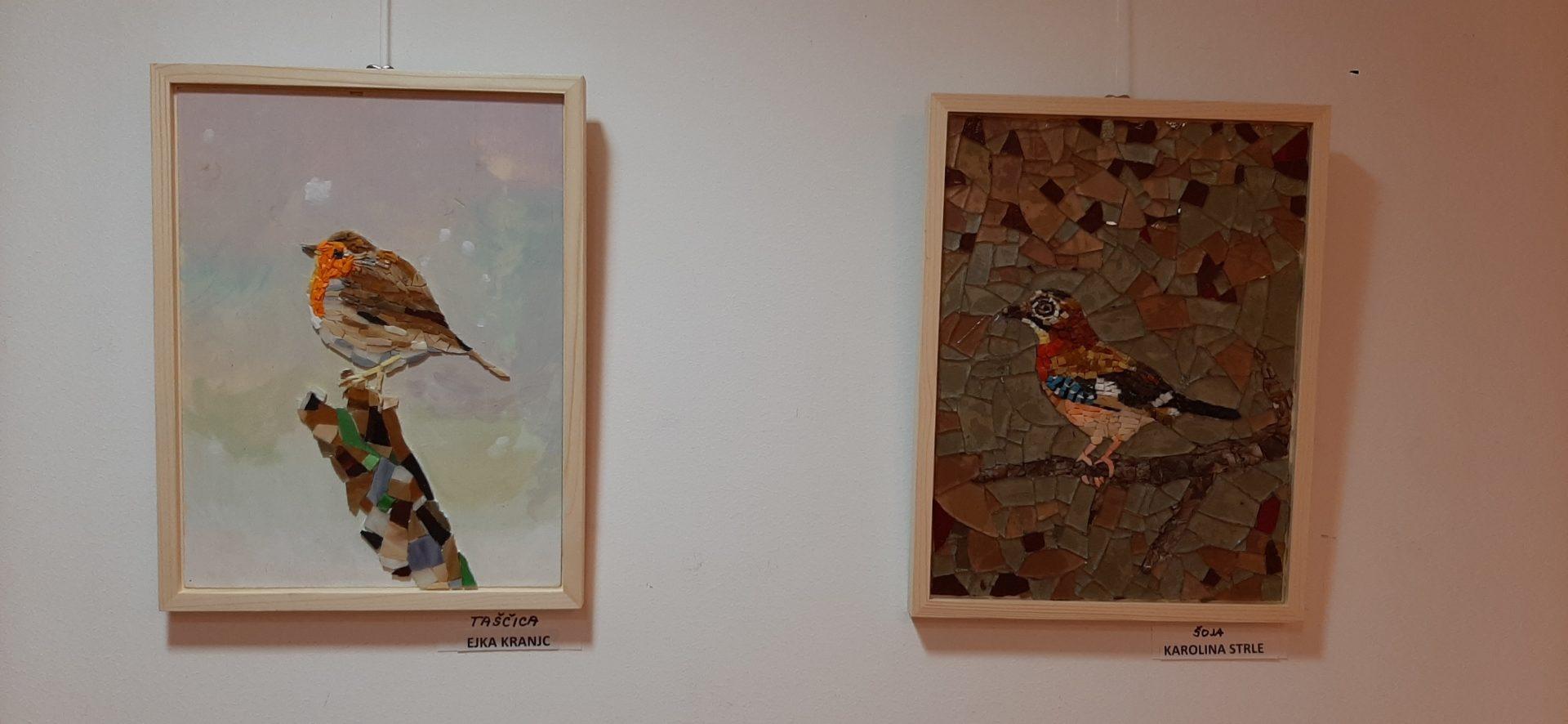 20200918 191723 - Ptice naših krajev – razstava sekcije Mozaik KD Rak Rakek