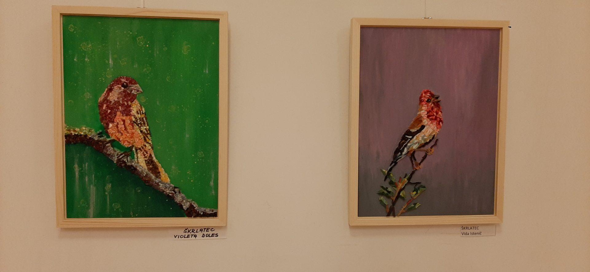 20200918 191921 - Ptice naših krajev – razstava sekcije Mozaik KD Rak Rakek