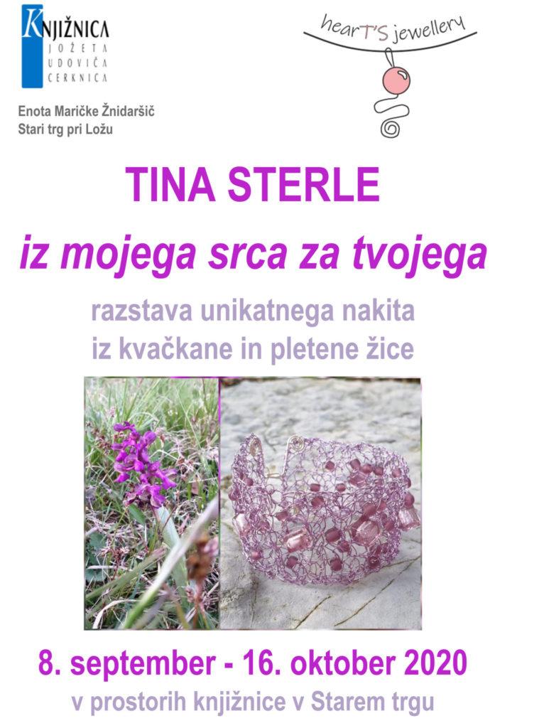 tina sterle 766x1024 - Tina Sterle - iz mojega srca za tvojega - razstava unikatnega nakita iz kvačkane in pletene žice