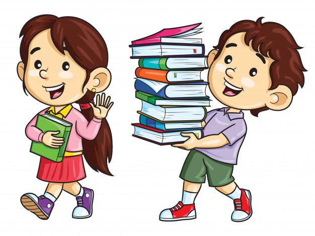 cartoon kids carry books 119631 257 - Dogodki