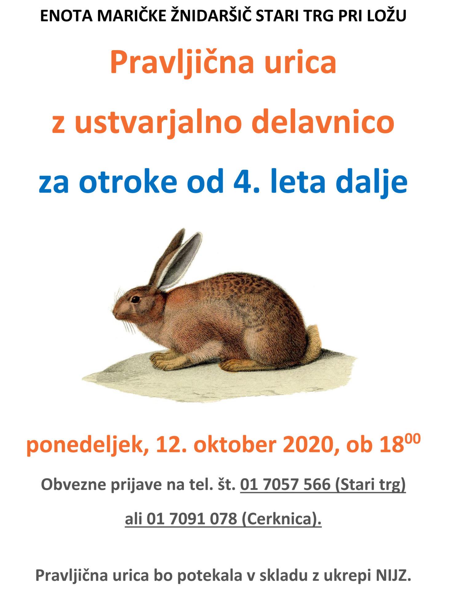 st pravljicna okt2020 - Dogodki