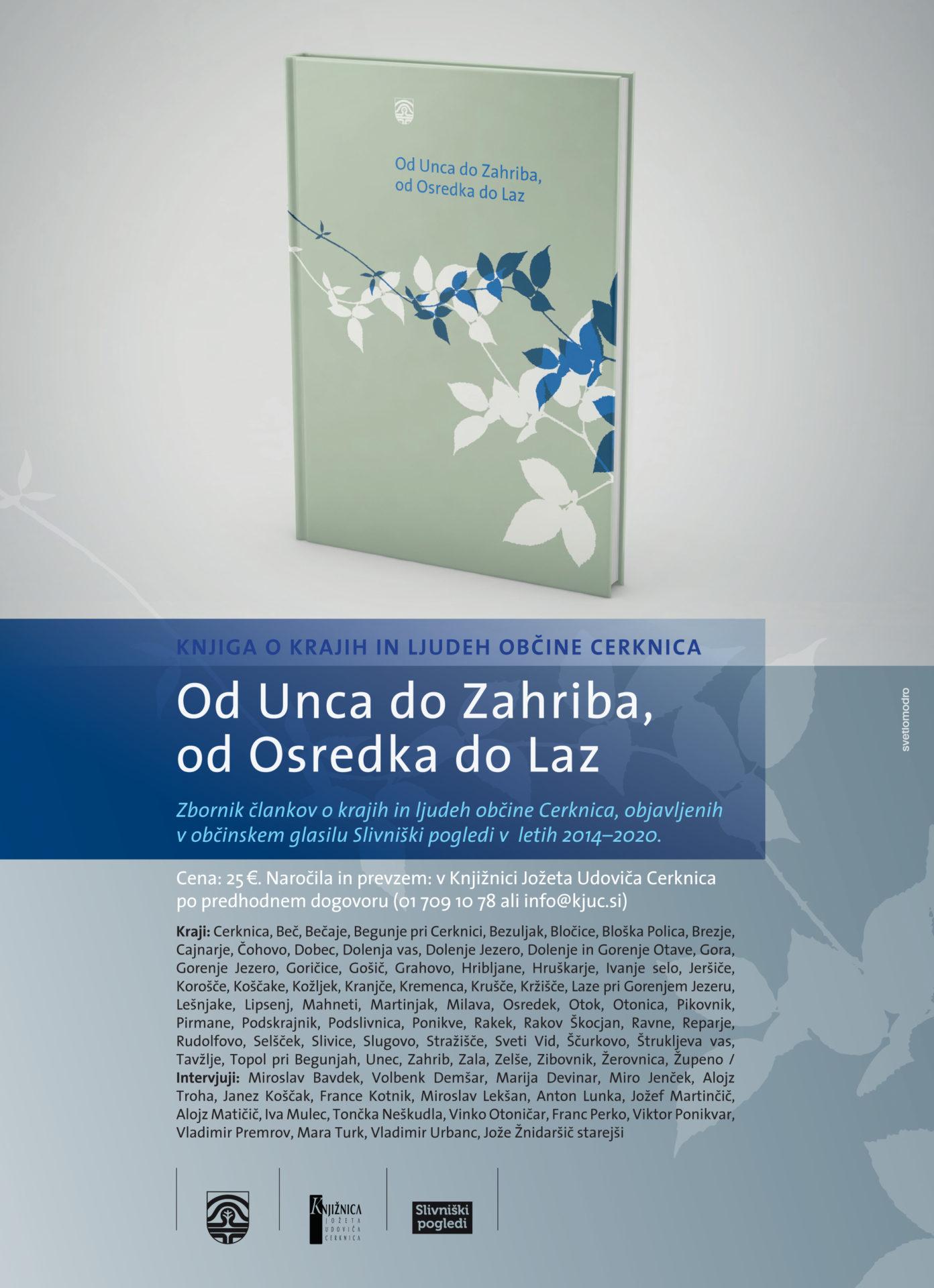 januar oglas - Od Unca do Zahriba, od Osredka do Laz – predstavitveni film