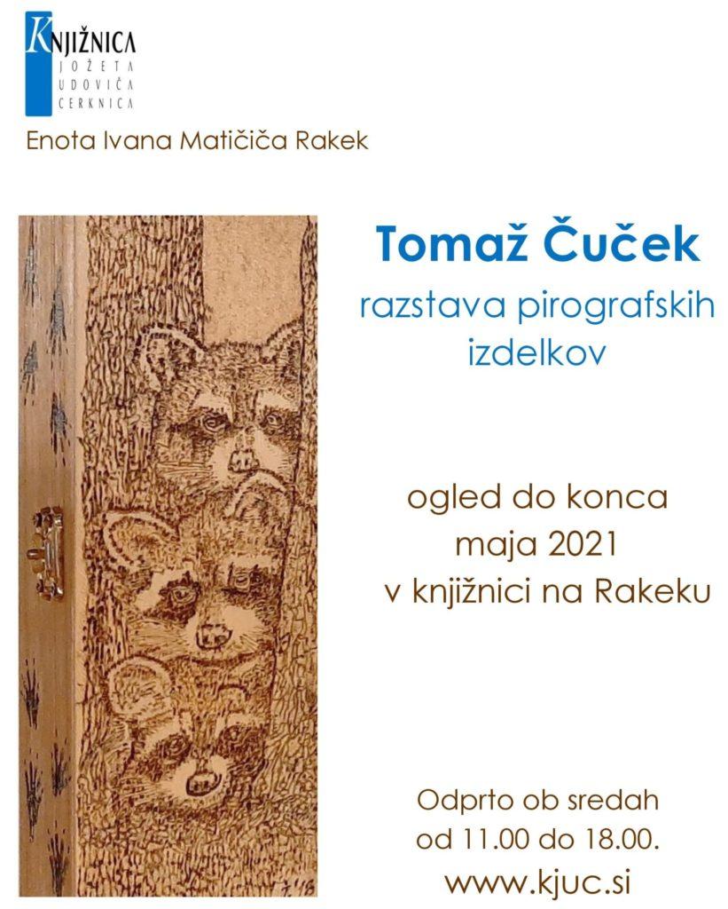 cover 821x1024 - Tomaž Čuček - razstava pirografskih izdelkov