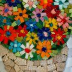 Mini mozaiki - razstavljajo člani mozaične sekcije  KD Rak Rakek