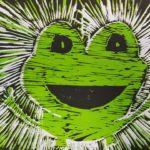 Žabe - razstava grafik učencev 7. razredov OŠ Notranjski odred Cerknica