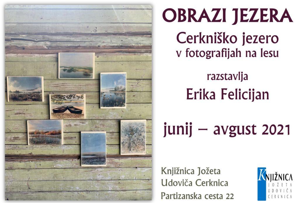 OBRAZI JEZERA kopija 2 1024x695 - Erika Felicijan: Obrazi jezera - Cerkniško jezero v fotografijah na lesu