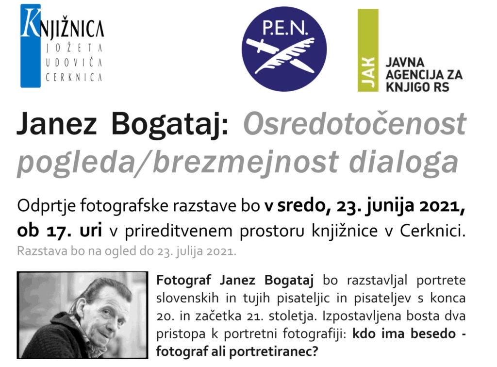 fbvabilo Bogataj PEN 1 1024x756 - Fotograf Janez Bogataj in pesnica Ifigenija Simonović