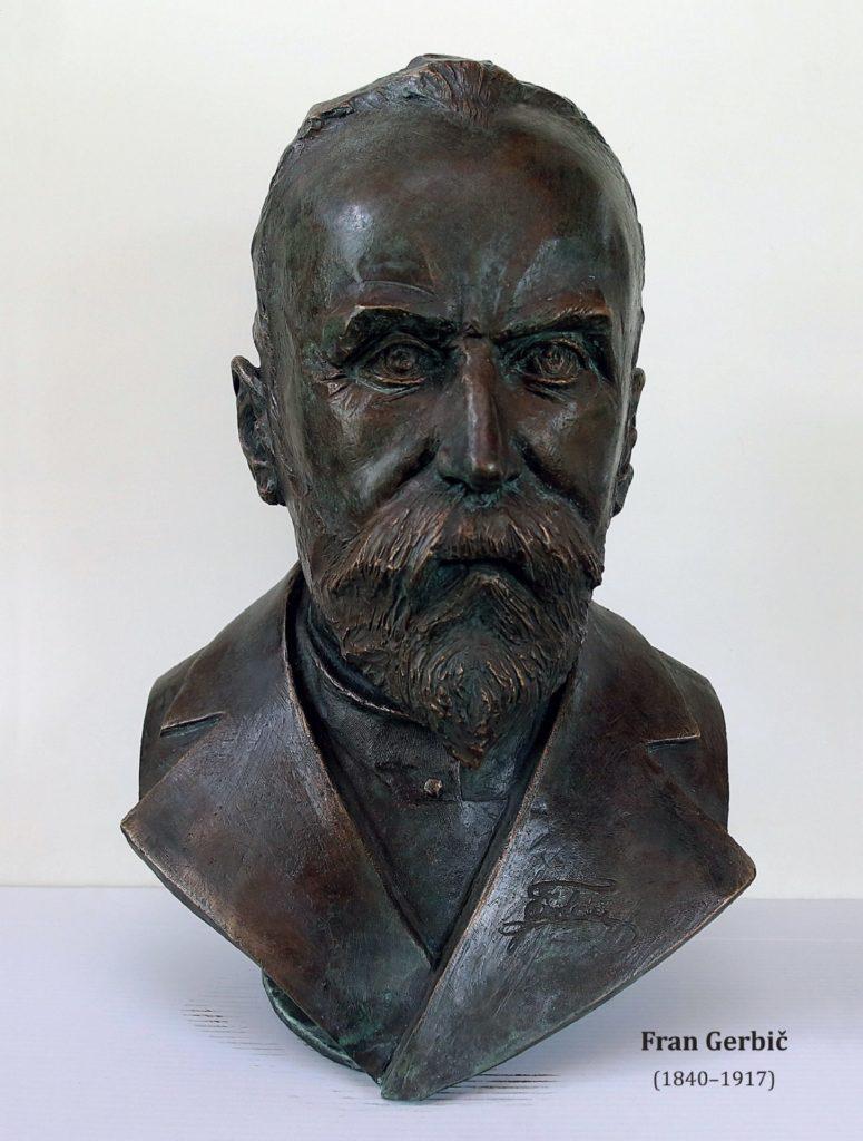 gerbicwww 775x1024 - Odkritje doprsnega kipa Frana Gerbiča