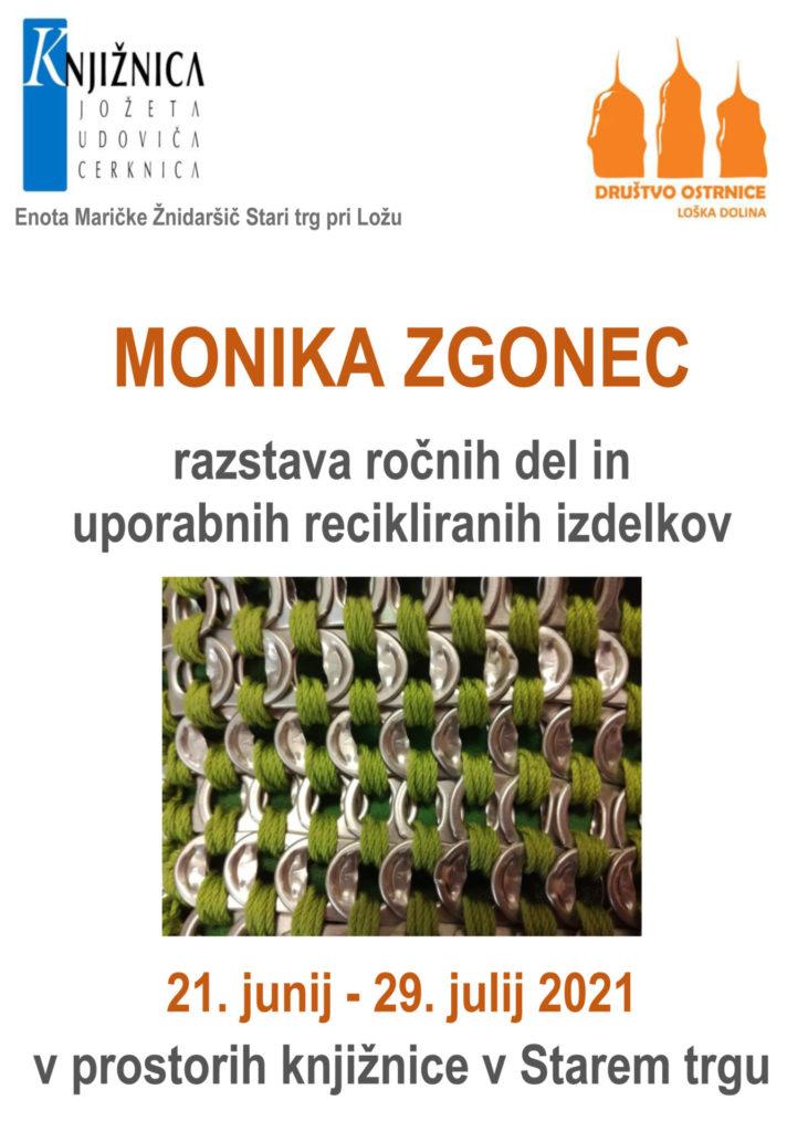 monika zgonec 731x1024 - Monika Zgonec - razstava ročnih del in uporabnih recikliranih izdelkov