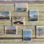 Erika Felicijan: Obrazi jezera - Cerkniško jezero v fotografijah na lesu