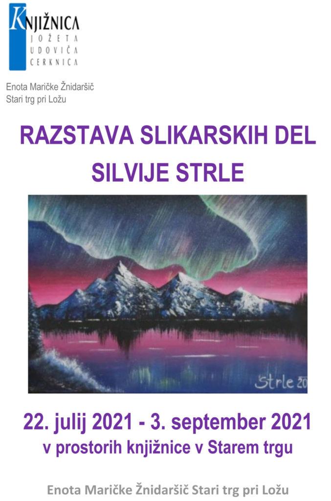 silvija 677x1024 - Silvija Strle - razstava slikarskih del